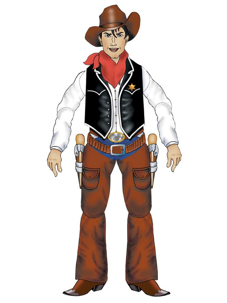 Cowboy Jointed Cutouts