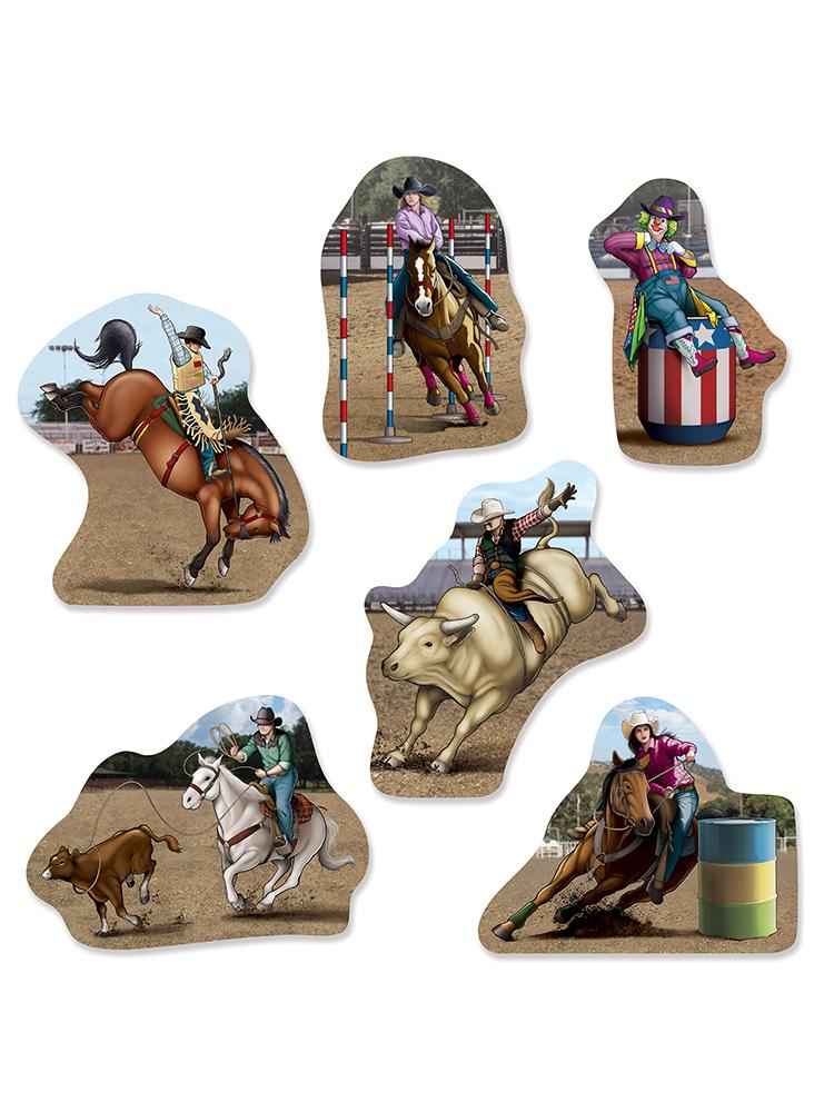 Rodeo Cutouts
