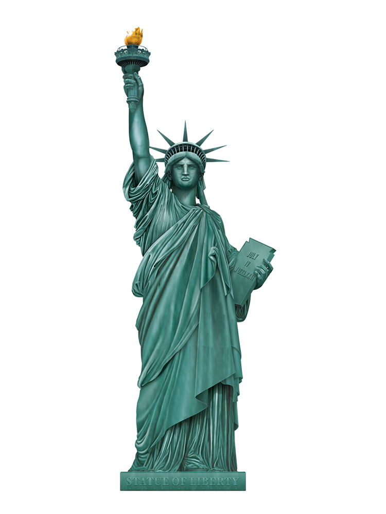 Jointed Statue Of Liberty