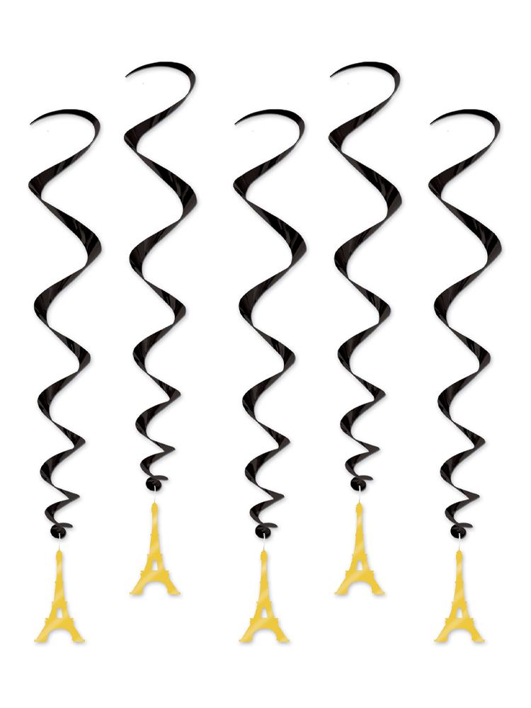 Eiffel Tower Whirls