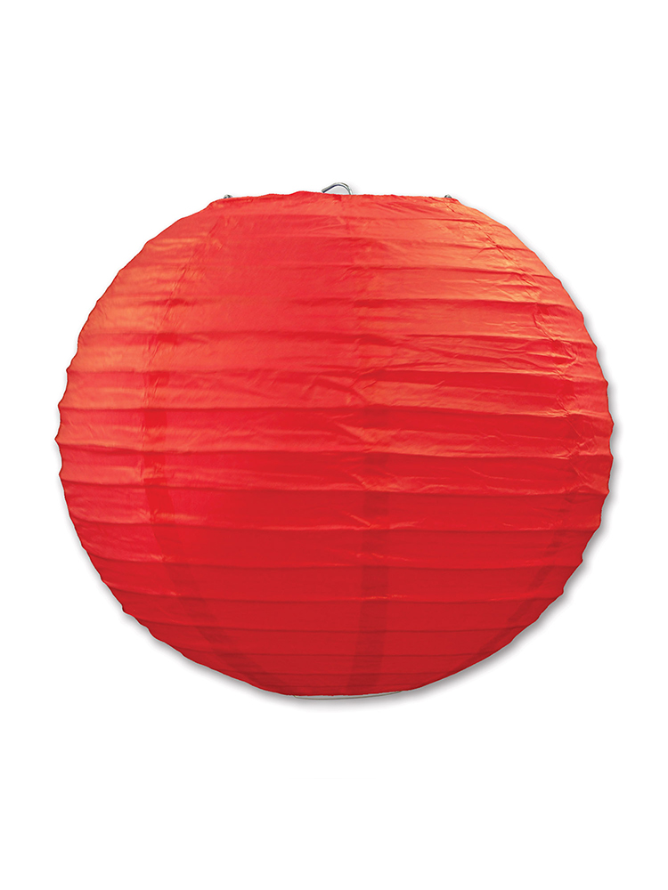 Paper Lanterns (Pack Of 3) - Red