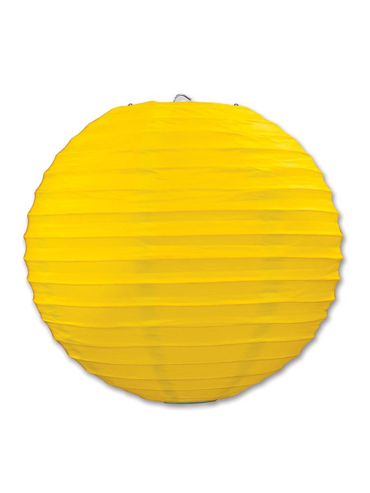 Paper Lanterns (Pack Of 3) - Yellow