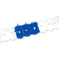 Blue & White Garland