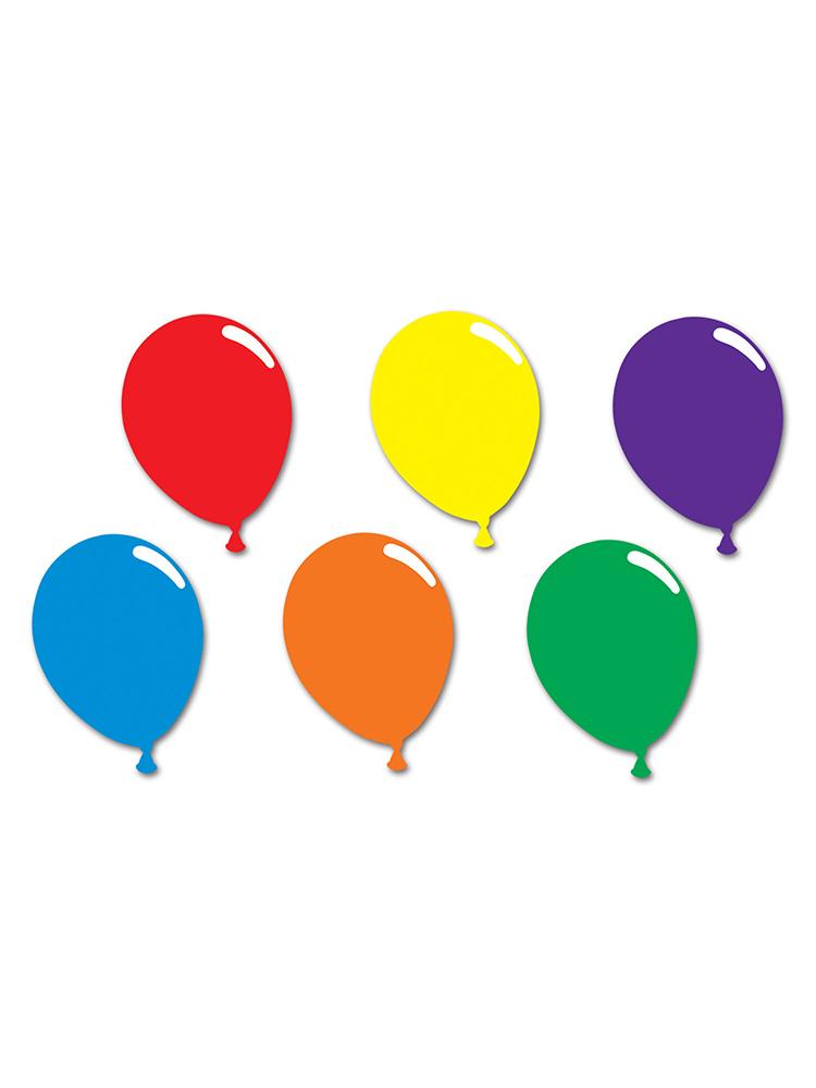 Printed Balloon Silhouettes