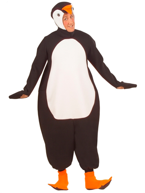 Penguin Costume (Jumpsuit Headpiece W/Mask Paws)