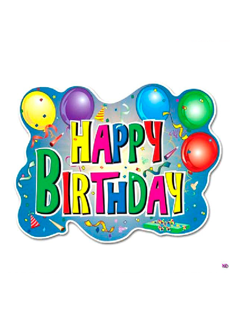 Happy Birthday Sign - Party Supplies from Novelties Direct - Novelties ( Parties) Direct Ltd 533ab5c8b