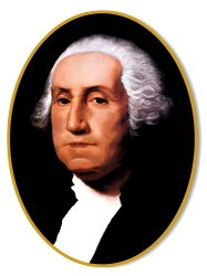 George Washington Cutout