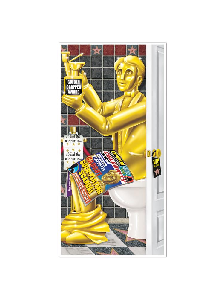 Awards Night Restroom Door Cover