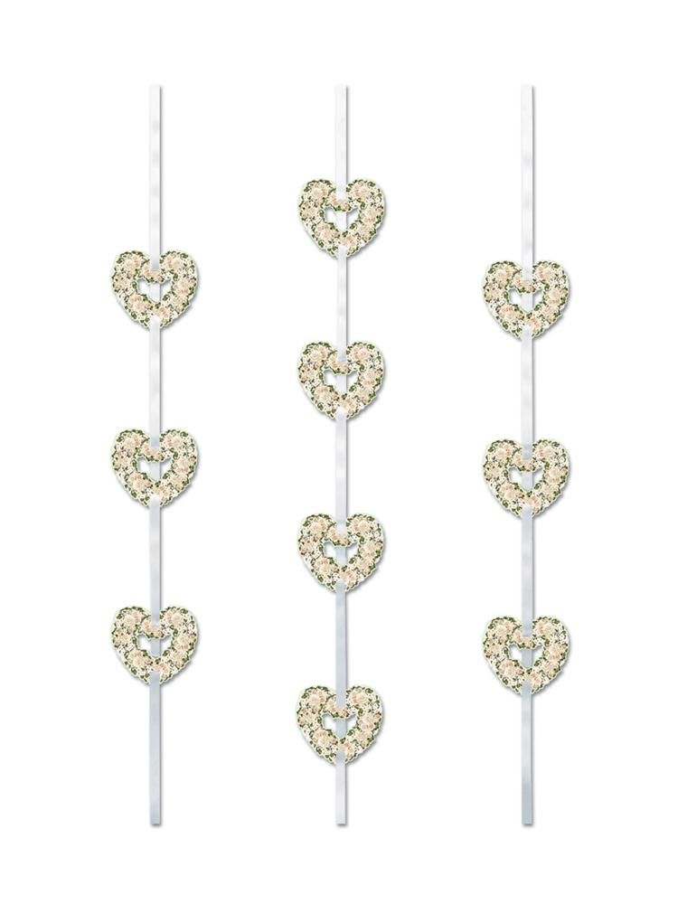 Heart Ribbon Stringers 4'