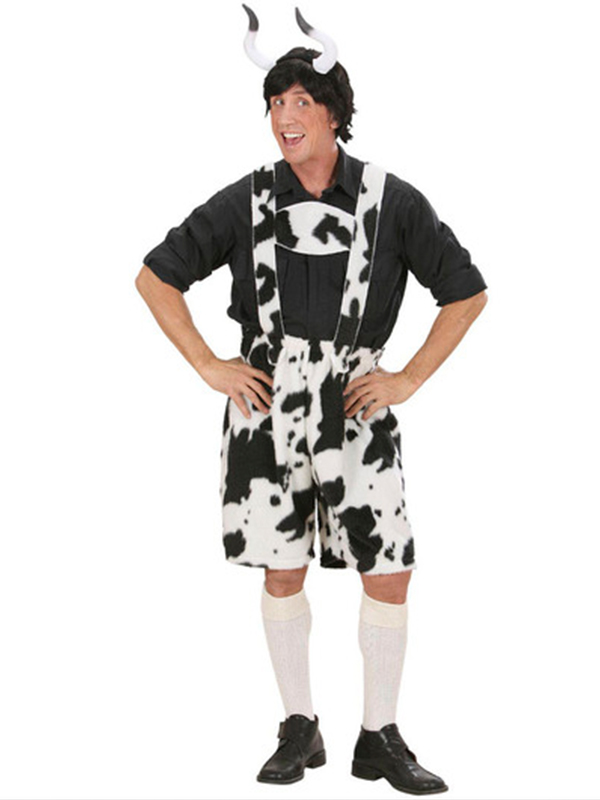 Plush Cow Lederhosen