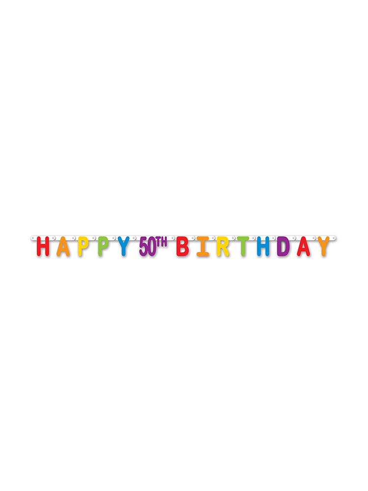 Happy 50th Birthday Streamer