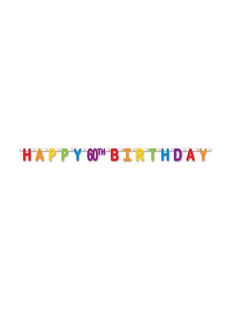 Happy 60th Birthday Streamer
