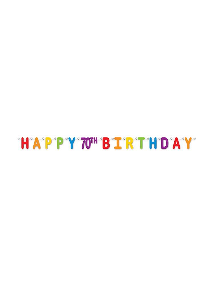 Happy 70th Birthday Streamer