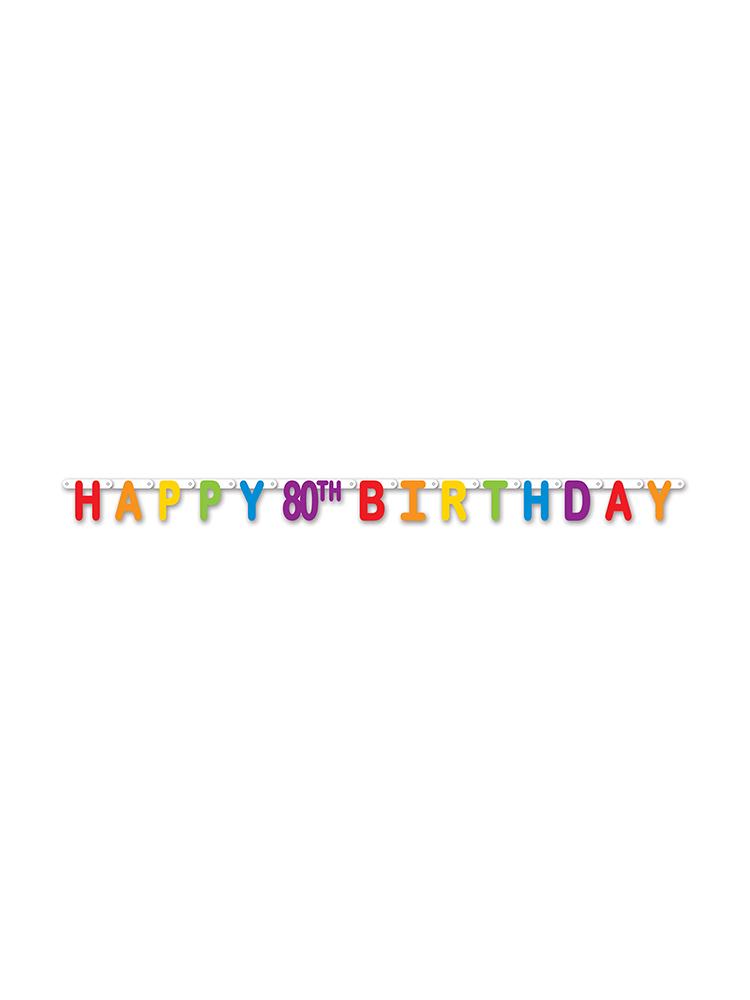 Happy 80th Birthday Streamer