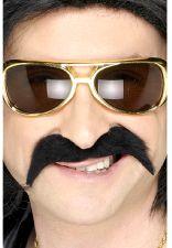 70's Black Moustache