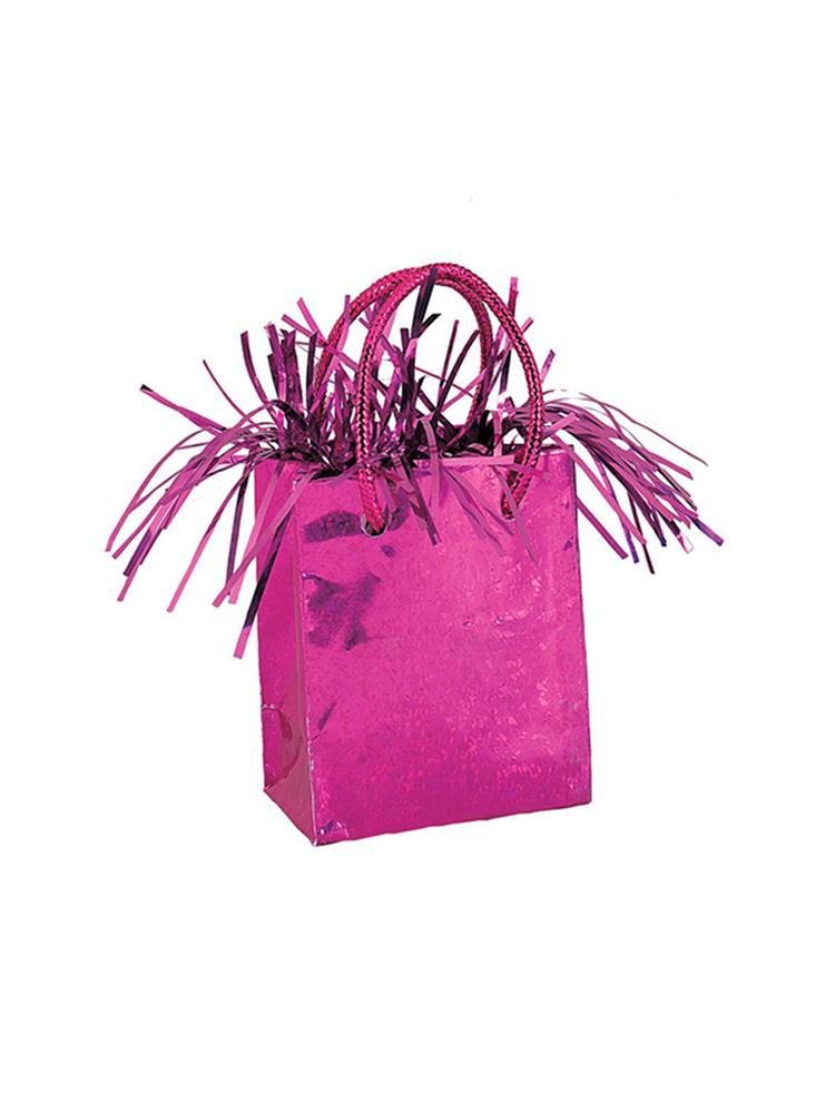 Balloon Weight Mini Handbag Hot Pink