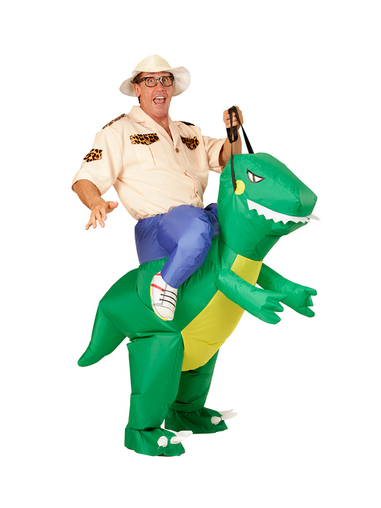 Dinosaur - Adult (Airblown Inflatable Costume With Hat)