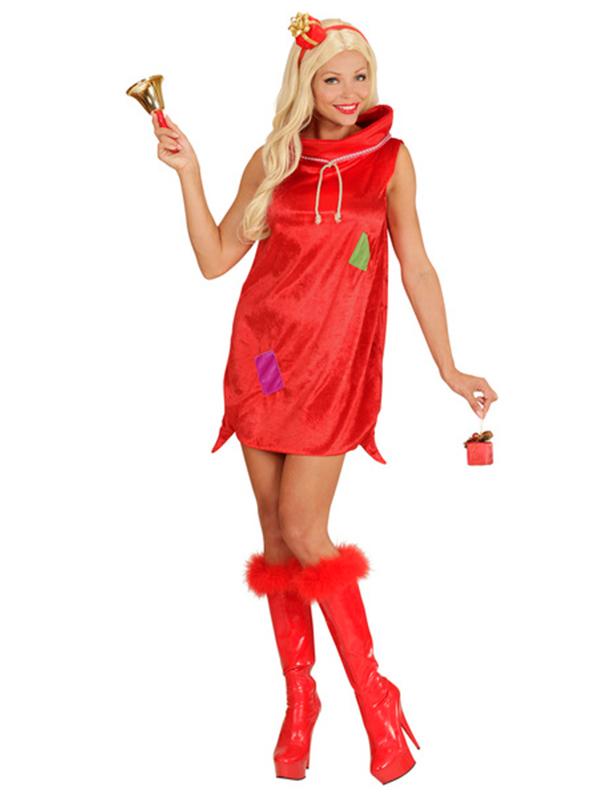 Christmas Sack Girl (Dress Headband)