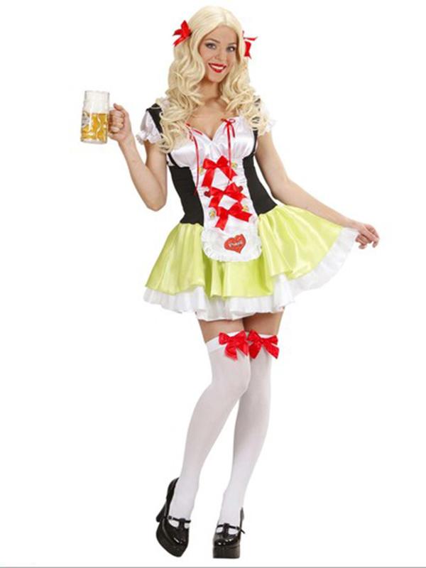 Bavarian Beer Girl Costume 12345