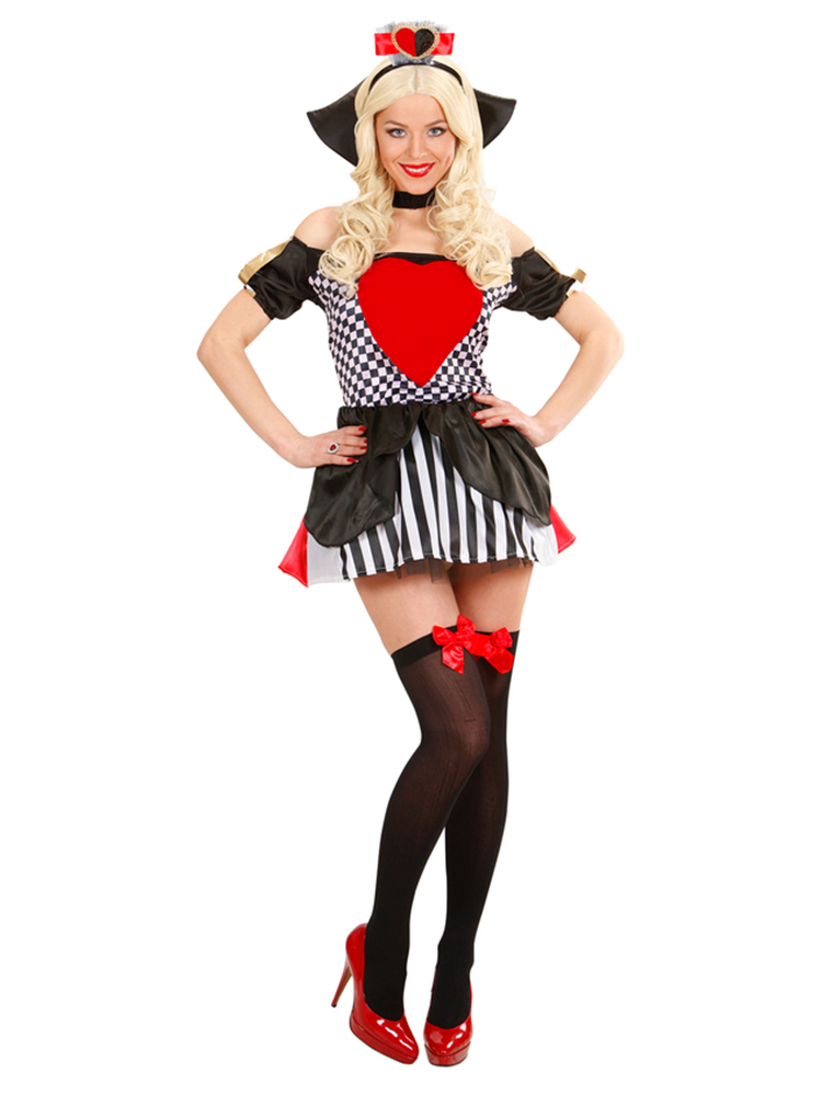 Queen Of Hearts (Dress Choker Headpiece)