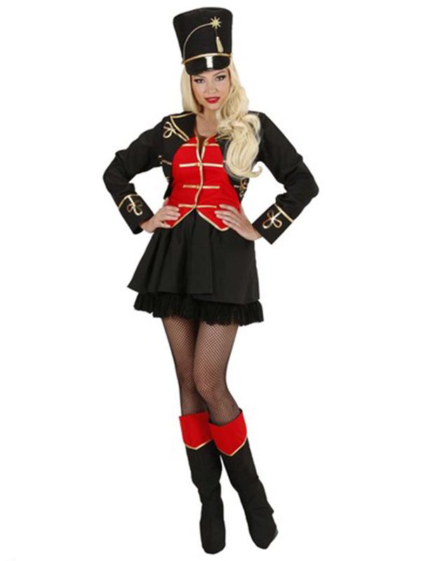 Tamer Girl (Dress W/Vest Skirt Boot Covers Hat Whip)