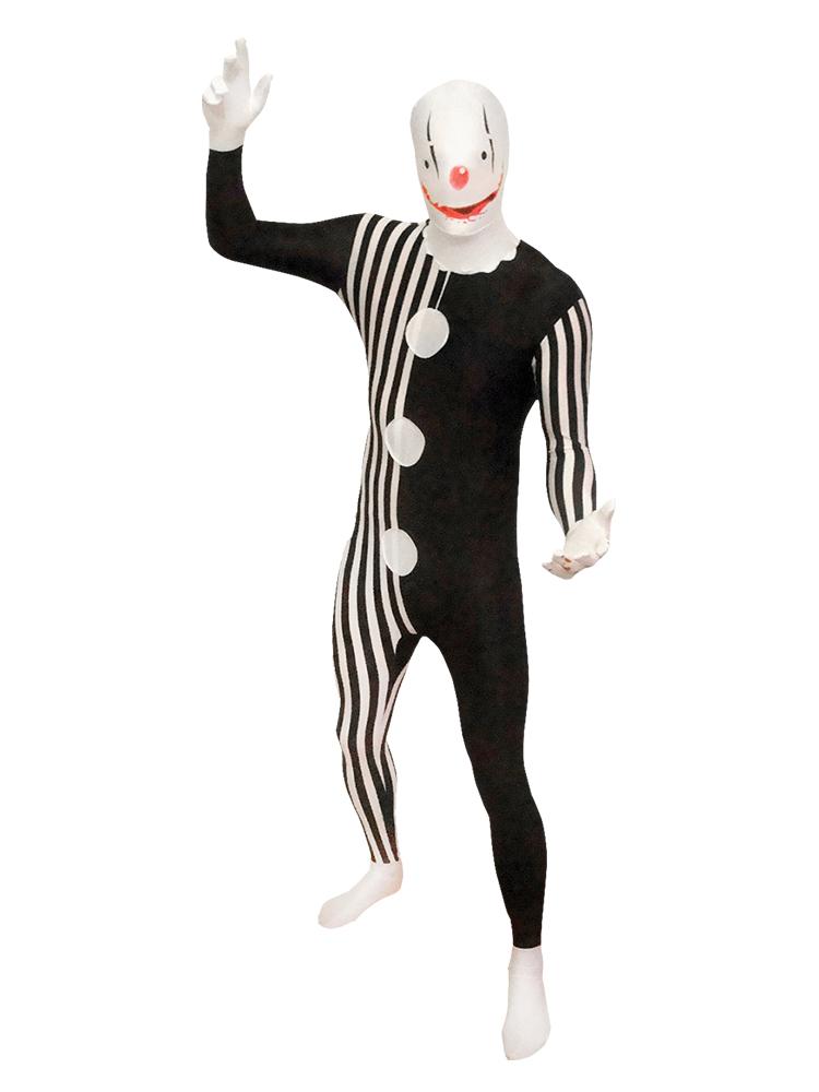 Evil Clown Morphsuit Costume