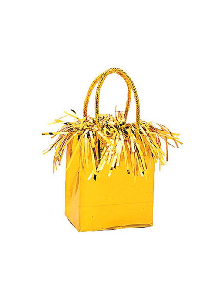 Balloon Weight Mini Handbag Gold