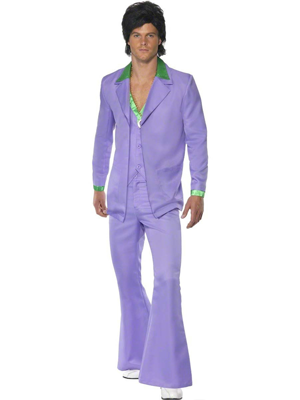 1970's Lavender Suit