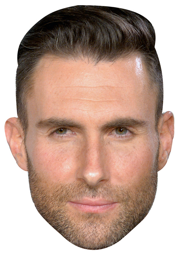 Adam Levine Mask