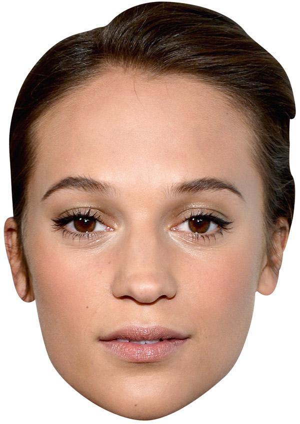 Alicia Vikander Mask