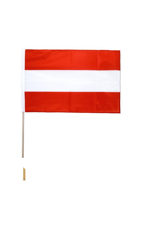 Austria Hand Waving Flag