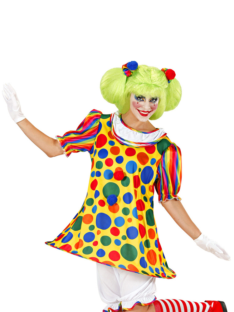 Clown Girl (Dress Hoops Pantaloons Hairband)