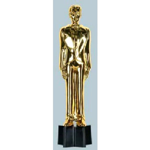Awards Night Male Statuette 9 inches (Quantity 1)