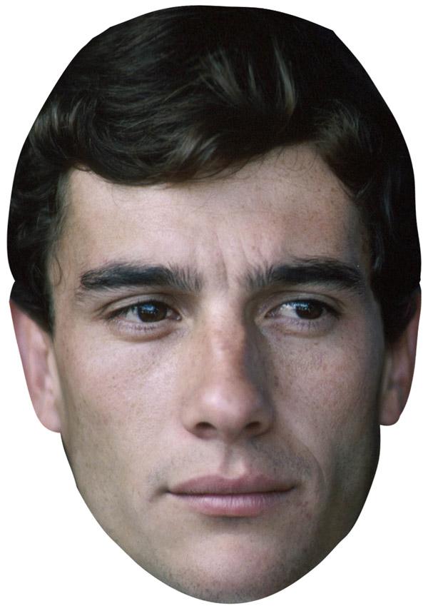 Ayrton Senna Mask