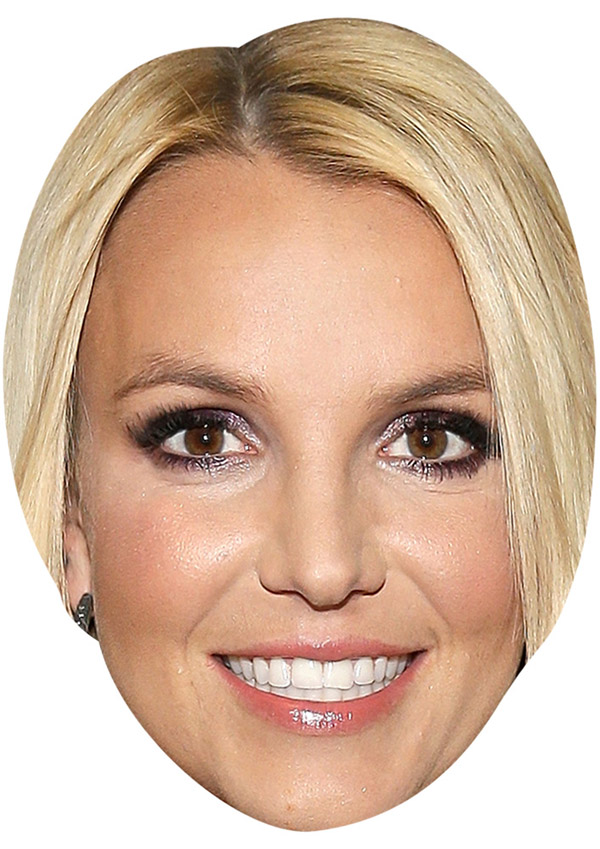 Britney Spears Face Mask