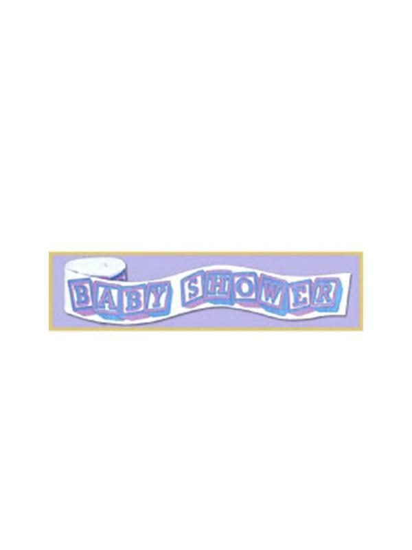 Baby Shower Crepe Streamer