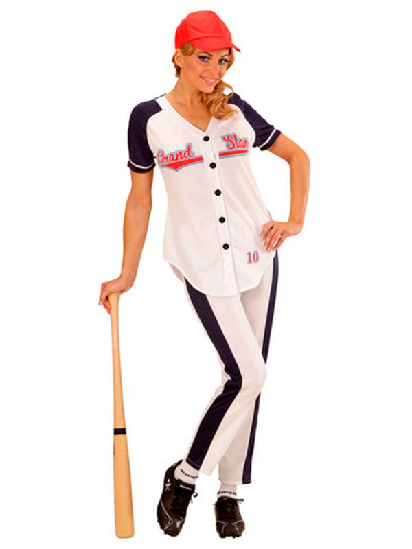 Baseball Girl Costume