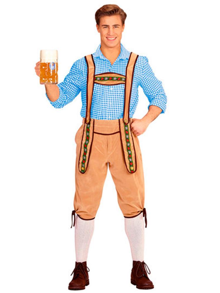 Bavarian Man Yellow