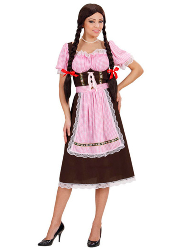 Bavarian Woman Heavy Fabric Costume