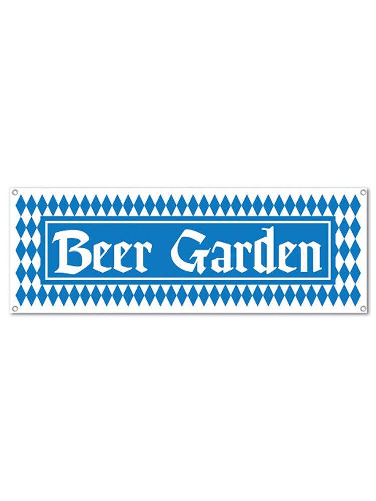 Beer Garden Sign Banner