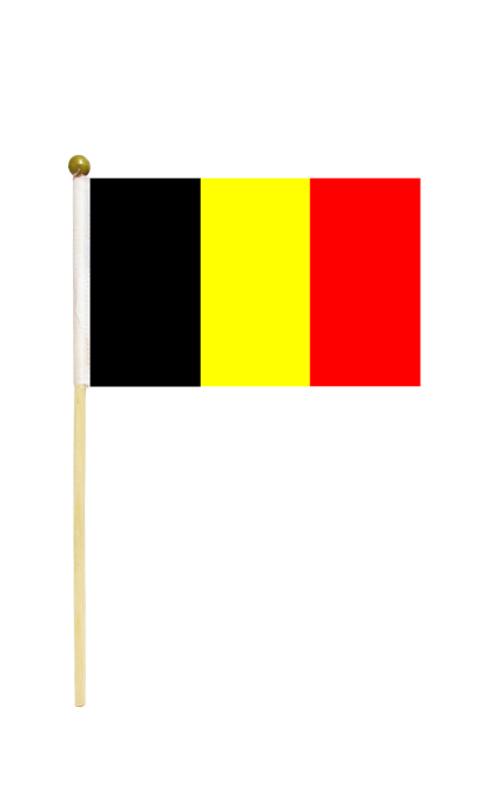 Belgium Hand Held Flag