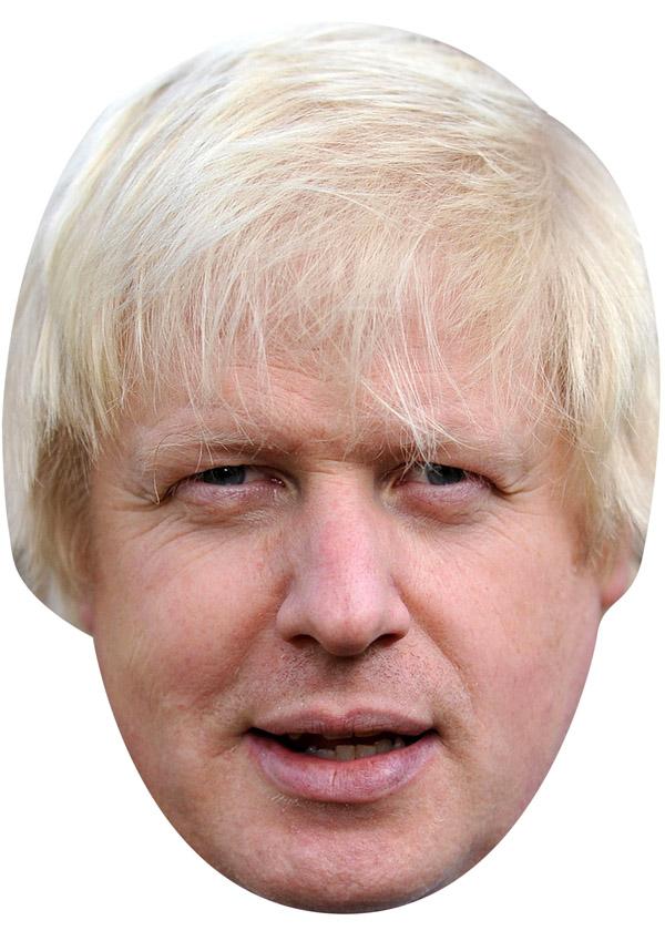 Boris Johnson Mask