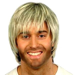 Boy Band Wig (Quantity 1)- Brown