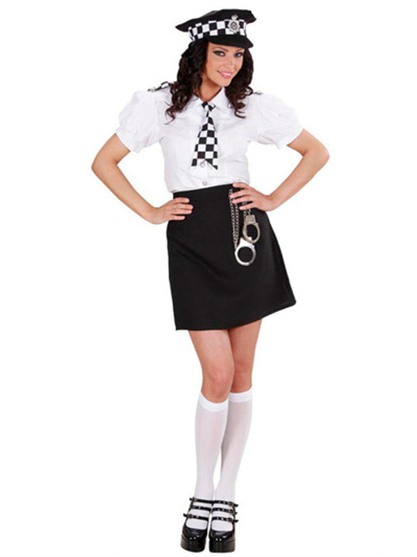 British Police Girl Costume