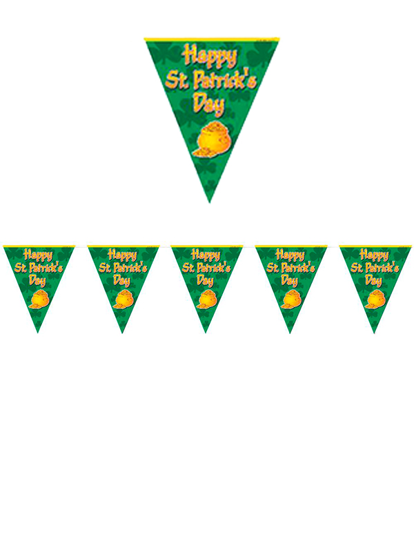 Bunting - Happy St Patricks Day Pot of Gold