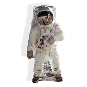 Buzz Aldrin (Spaceman) Cardboard Cutout