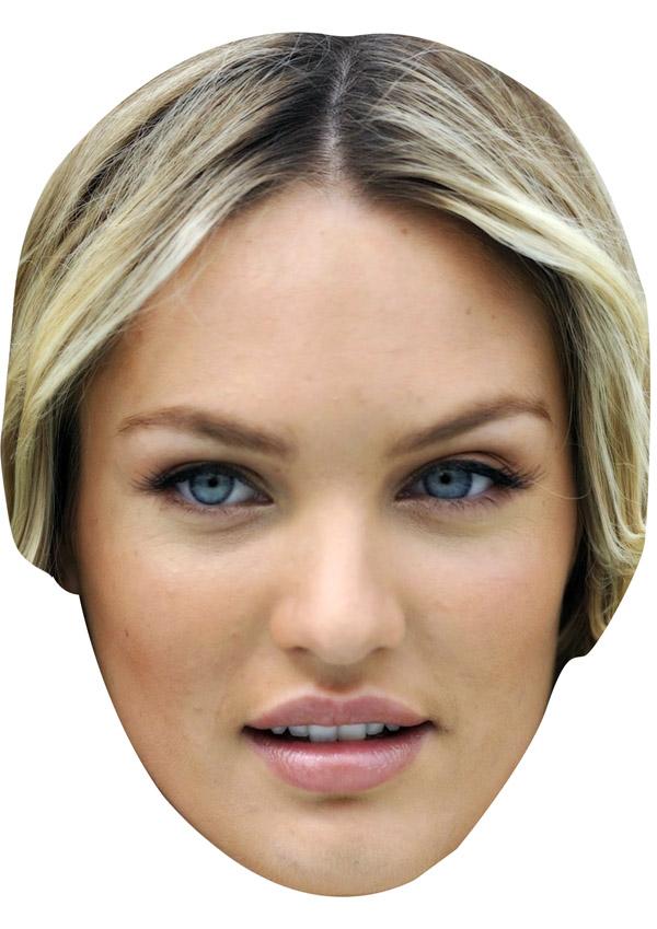 Candice Swanepoel Mask