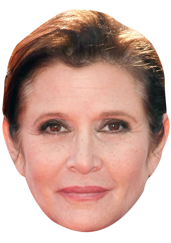 Carrie Fisher Mask