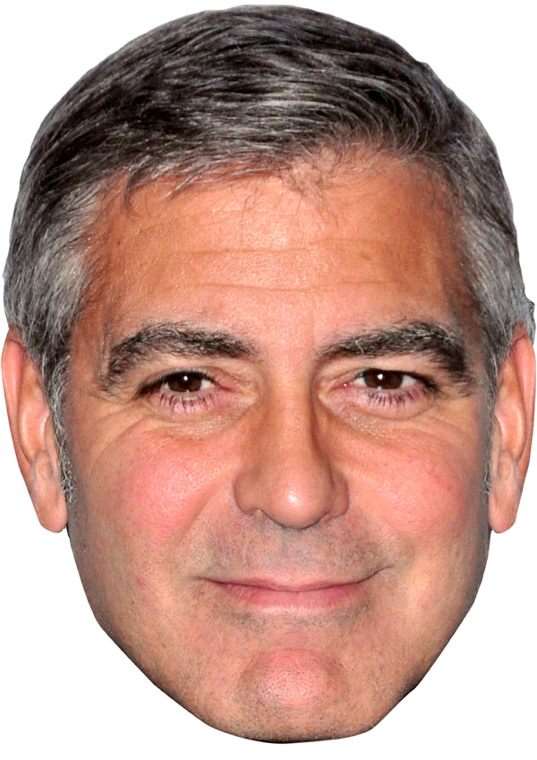 George Clooney Mask 2