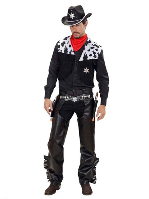 Cowboy Costume - Black